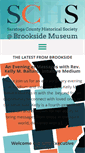 Mobile Preview of brooksidemuseum.org